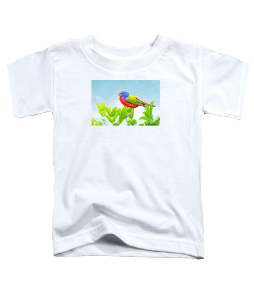 Painted Bunting Toddler T-Shirt