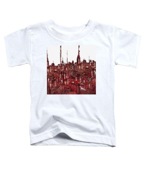 Painting 7756 New York Skyline Toddler T-Shirt
