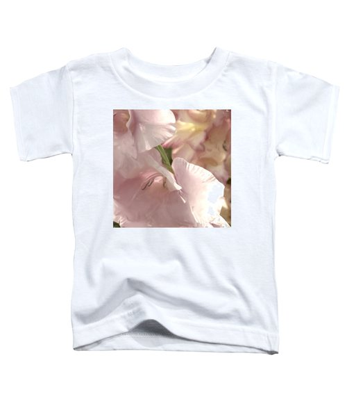 Pale Pink Glads Toddler T-Shirt