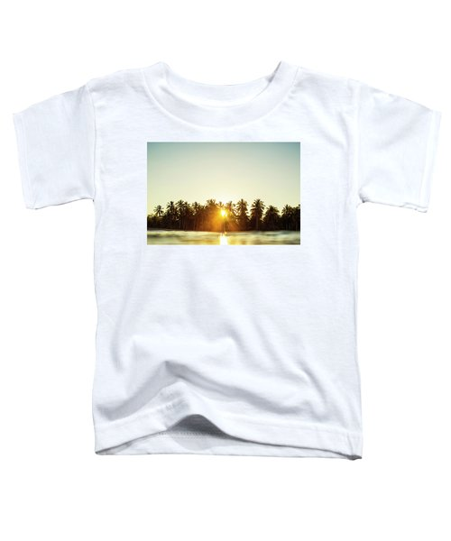 Palms And Rays Toddler T-Shirt