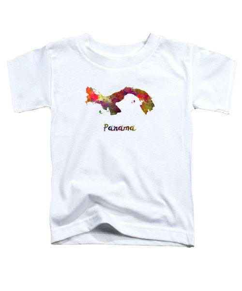 Panama In Watercolor Toddler T-Shirt