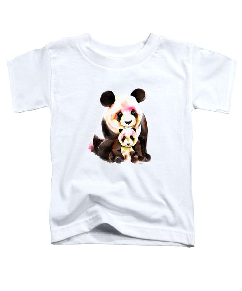 Panda Bear Toddler T-Shirt