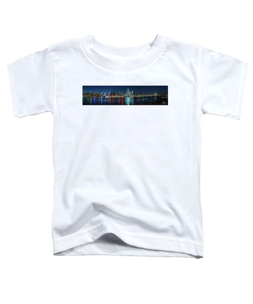 Panoramic Skyline-manhattan Toddler T-Shirt