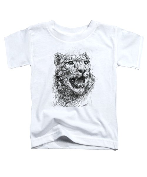 Leopard Toddler T-Shirt by Michael Volpicelli