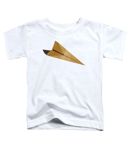 Paper Airplanes Of Wood 15 Toddler T-Shirt by YoPedro