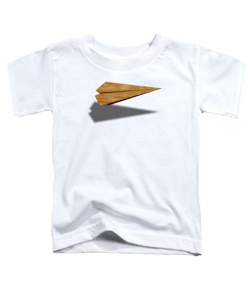 Paper Airplanes Of Wood 9 Toddler T-Shirt by YoPedro