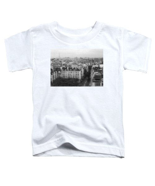 Paris In The Rain  Toddler T-Shirt