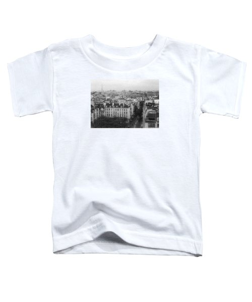 Paris In The Rain  Toddler T-Shirt
