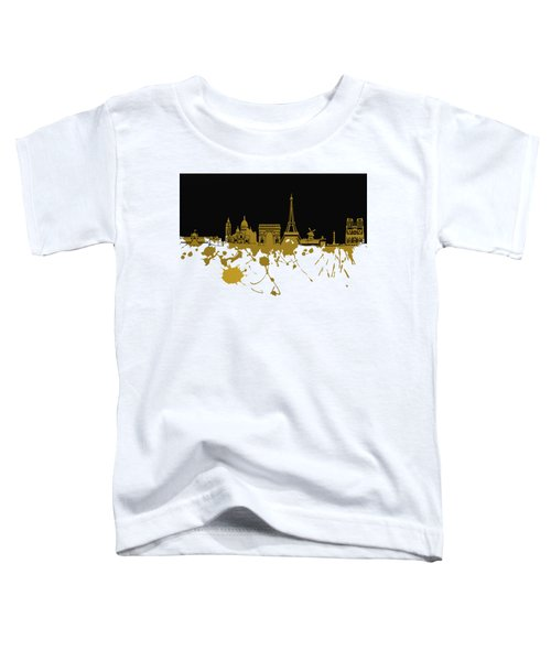 Paris Skyline  Toddler T-Shirt