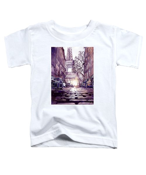 Paris Toddler T-Shirt