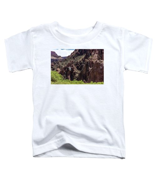 Park Service Helicopter In The Grand Canyon  Toddler T-Shirt