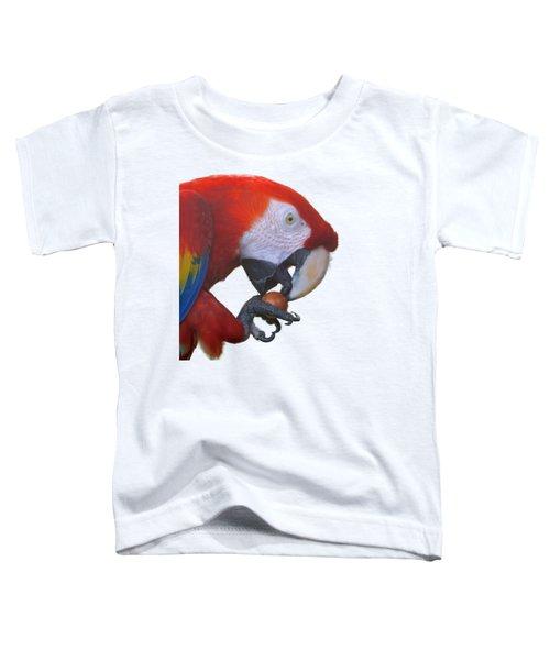 Parrot Having A Snack Toddler T-Shirt