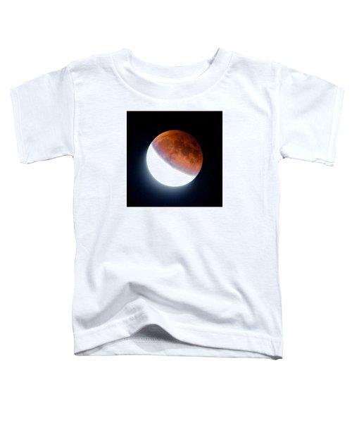 Partial Super Moon Lunar Eclipse Toddler T-Shirt