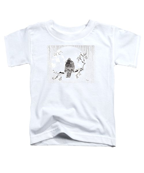 Party Time In Birdville Toddler T-Shirt