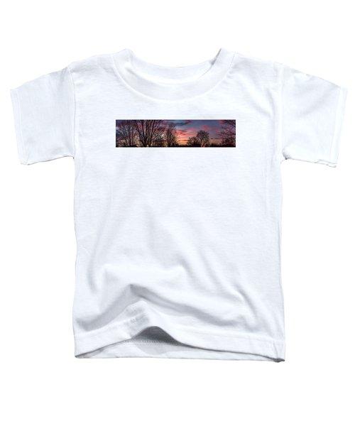 Pastel Sunrise Toddler T-Shirt