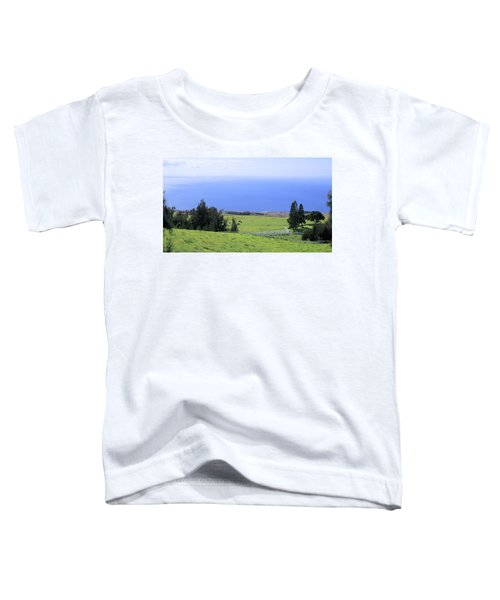 Pasture By The Ocean Toddler T-Shirt