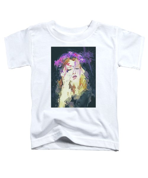 Path Abstract Portrait Toddler T-Shirt
