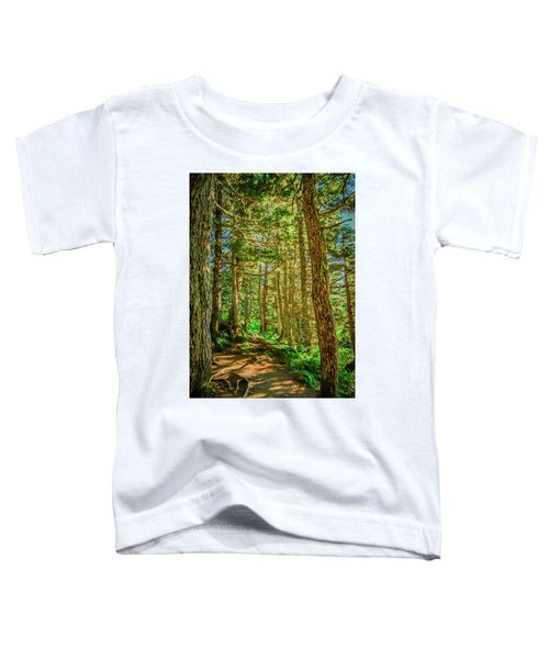 Path In The Trees Toddler T-Shirt