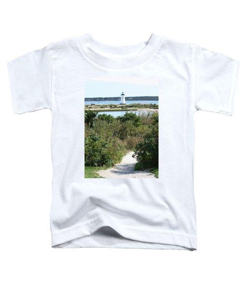 Path To Edgartown Lighthouse Toddler T-Shirt