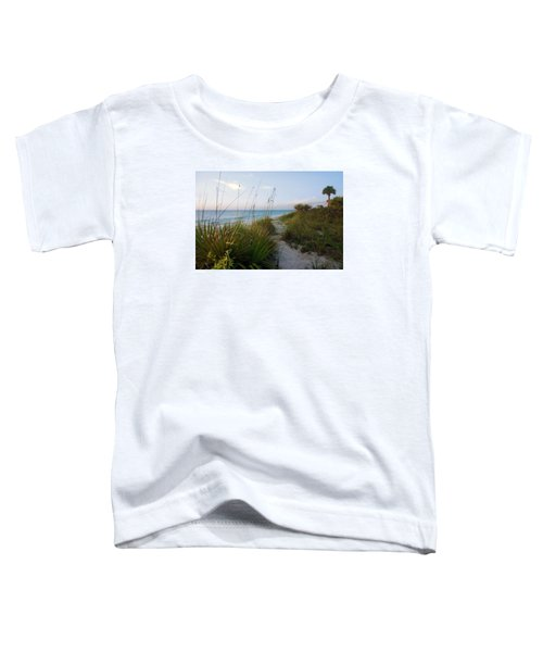 Pathway To Barefoot Beach  In Naples Toddler T-Shirt