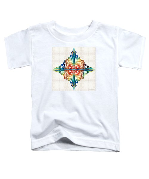Pattern Art - Color Fusion Design 1 By Sharon Cummings Toddler T-Shirt