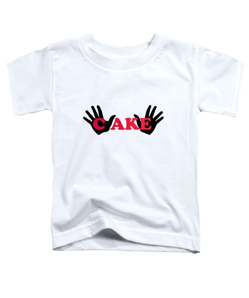 Patty Cake Toddler T-Shirt