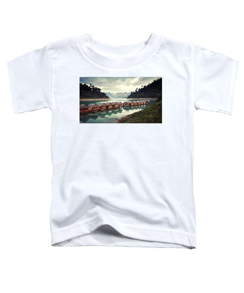 Peace On The Lake Toddler T-Shirt