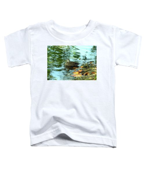 Peaceful Duck Toddler T-Shirt