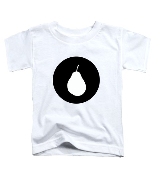 Pear Toddler T-Shirt by Mordax Furittus