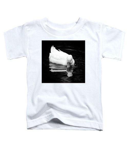 Peek-ing Duck Toddler T-Shirt