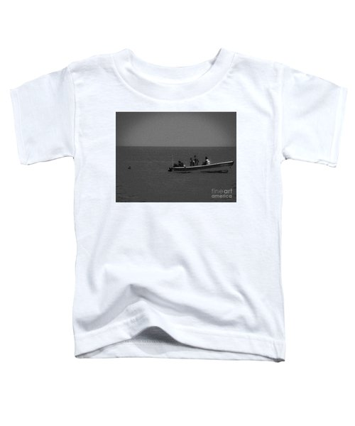 Pelican And The Fishing Boat Toddler T-Shirt