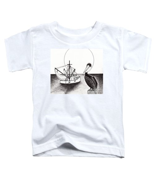 Pelican Fishing Paradise C1 Toddler T-Shirt