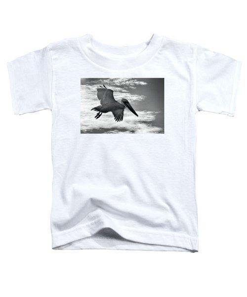 Pelican In Flight Toddler T-Shirt