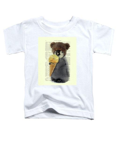 Penguin Ice Cream Toddler T-Shirt