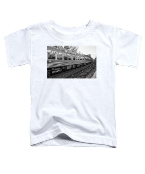 Pennsylvania Reading Seashore Lines Train Toddler T-Shirt