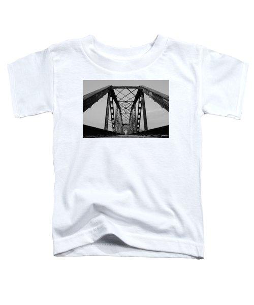 Pennsylvania Steel Co. Railroad Bridge Toddler T-Shirt