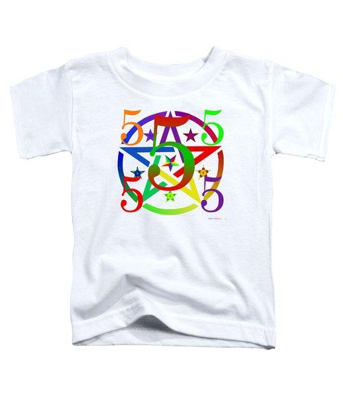 Penta Pentacle White Toddler T-Shirt