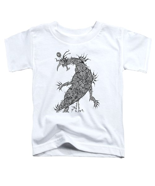Pheasant Toddler T-Shirt by Raf Podowski