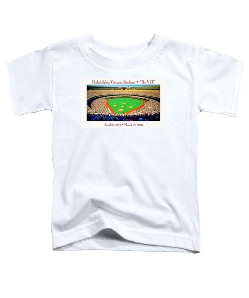Philadelphia Veterans Stadium The Vet Toddler T-Shirt