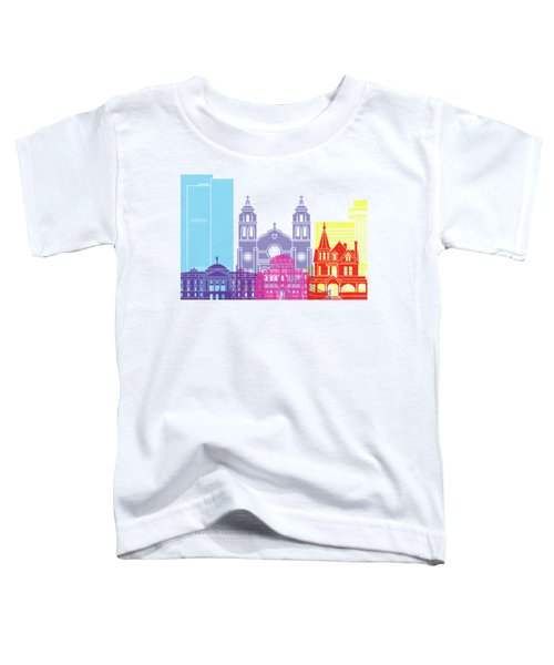 Phoenix Skyline Pop Toddler T-Shirt by Pablo Romero