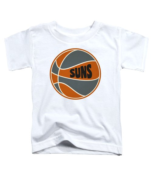 Phoenix Suns Retro Shirt Toddler T-Shirt by Joe Hamilton