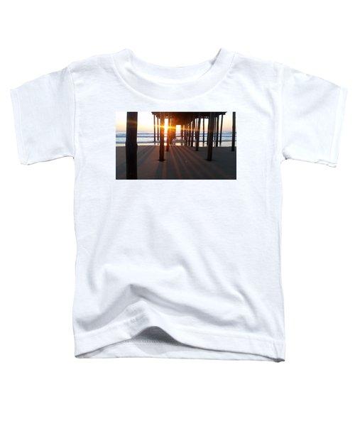 Pier Shadows Toddler T-Shirt