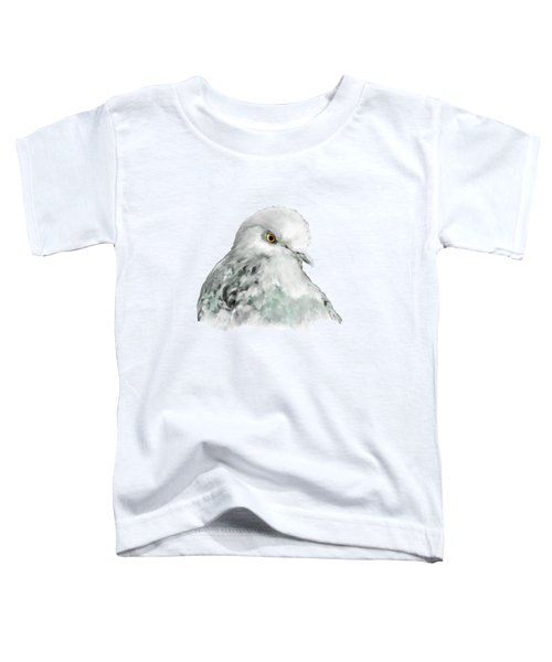 Pigeon Toddler T-Shirt by Bamalam  Photography