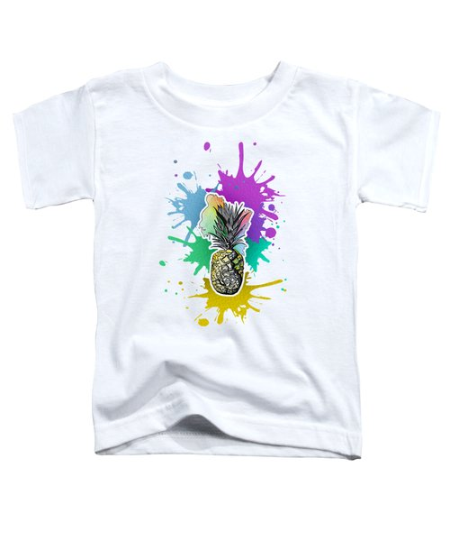 Pineapple Toddler T-Shirt