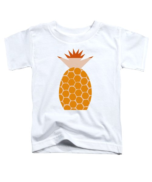Pineapple Toddler T-Shirt by Frank Tschakert