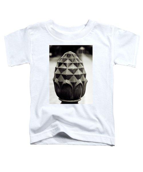 Pineapple, Oak Alley, Vacherie, Louisiana Toddler T-Shirt