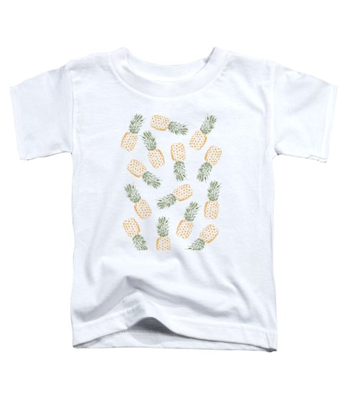 Pineapples Toddler T-Shirt