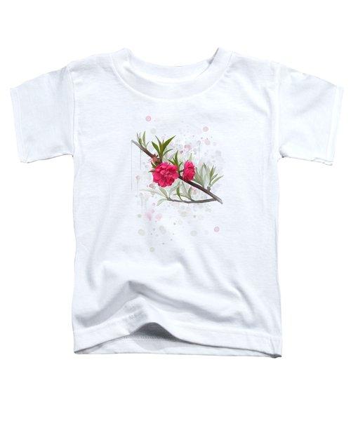 Hot Pink Blossom Toddler T-Shirt