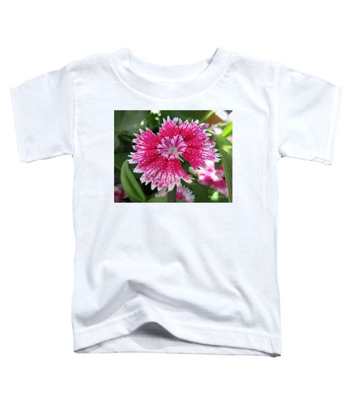 Pink Carnation  Toddler T-Shirt