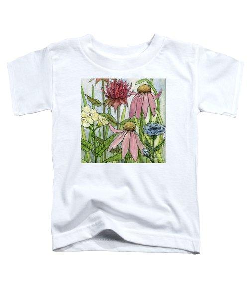Pink Coneflower Toddler T-Shirt